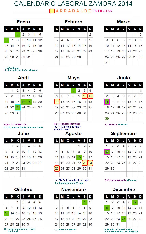 Calendario para arrabalde for Calendario eventos madrid